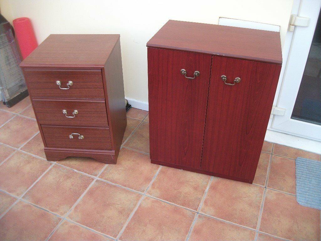 Chest of drawers and cupboardin Norwich, NorfolkGumtree - Chest of drawers and cupboard. These have been used and are a bit worn but still usable. Measurement of cupboard size 610mm wide, 750mm high and 400mm deep. Measurement of chest of drawers 440mm wide, 650mm high and 430mm deep. These can be sold...