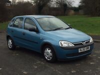 QUICK SALE WANTED! Vauxhall Corsa GLS 1.2i Petrol Manual 5door