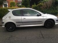 Peugeot 206 with12 months mot- needs new clutch -