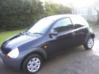 FORD KA 1-3. 2006. ONLY 32,000 MILES FROM NEW FULL SERVICE HISTORY 2 PREVIOUS LADY OWNERS ANY TRIAL