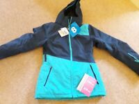 Brand new ladies ski jacket with tags size 8