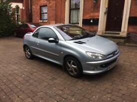 Peugeot 206cc sports convertible car