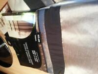BRAND NEW CURTAINS 3 SETS PLUS NEW CUSHION