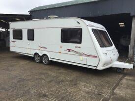 Compass connoisseur 636 - 6 berth caravan in great condition