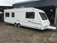 Compass connoisseur 636 - 6 berth caravan in great condition