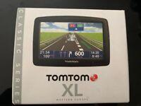 Tom Tom XL sat nav (UK and Western Europe)
