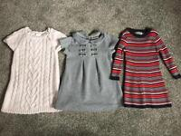 Girls dresses from H&M and next £2 each