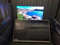 """Samsung 55""""4K SUHD smart led tv ue55ks7000"""
