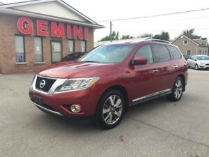 2014 Nissan Pathfinder Platinum 4wd Leather Navi Camera 6 Month
