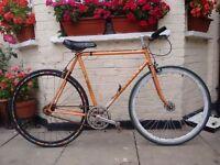 Vintage Peugeot singlespeed/Fixie bike