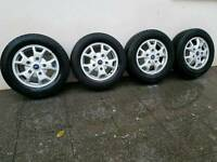 Genuine Ford transit custom alloy wheels