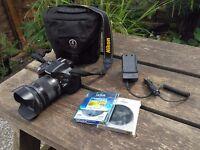 Camera DSLR Nikon D5200 + Sigma Lens 17-70 C + Filters // Great Price !