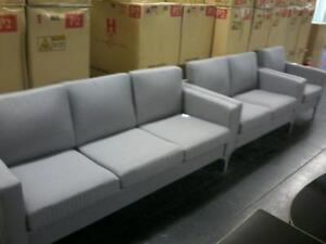 New Sofa Sets in Grey Regular $1699 Now $750 Taxes included.