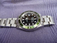 GENT`s SUBMARINER AUTOMATIC DIVERs WATCH