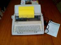 Electronic typewriter for home or office