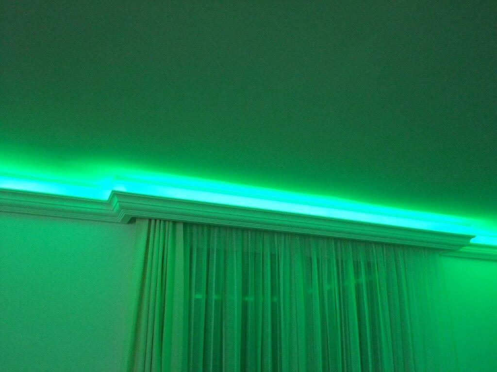 Indirekte Beleuchtung LED Wand & Decken Beleuchtung Stuckprofil BL 05 ...