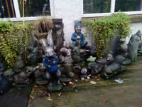 cement garden ornaments