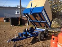 6x5 tipping trailer