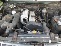 Mitsubishi L200 2.5 diesel non turbo Engine