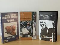 VHS Video Tapes STEVE MCQUEEN COLLECTION