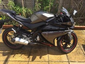 Yamaha YZF R125 Matte Grey 1450 miles only