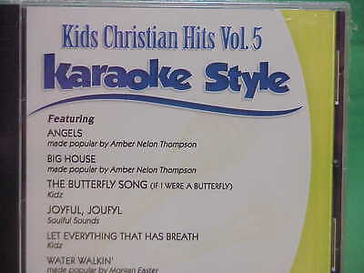 Kids Christian Hits  #5 ~ Daywind ~ Karaoke Style ~~ The Butterfly Song ~~ CD+G ()