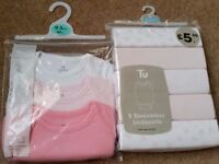 Joblot of Baby girls clothes etc 0-3 and 3-6months