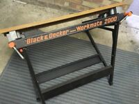 Black and Decker Workmate 2000.