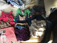 Bundle of girls Boden clothes aged 5-6 and 6-7