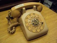 vintage rotary dial telephone works good 25.00