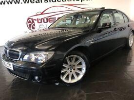 BMW 7 SERIES 5.0 750Li 4dr Auto (black) 2006