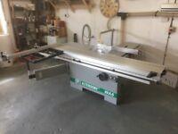 Altendorf WA6 Panel Saw - inc. blades and ducting worth £700