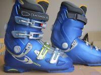 Salomon Ski Boots Mens Size 8