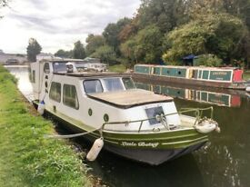 45ft 1976 Narrowboat for sale  Mercedes OM636 Engine