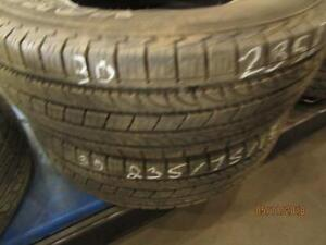 235/75R15 2 ONLY USED YOKOHAMA A/S TIRES