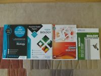 FOUR HIGHER BIOLOGY STUDY AND REVISION BOOKS