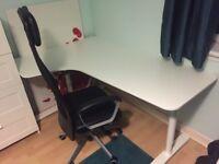 Ikea Computer Desk - White Corner desk