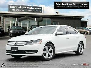 2013 VOLKSWAGEN PASSAT SE |LEATHER|SUNROOF|NO ACCIDENT|1 OWNER