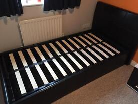 Denver Ottoman Single Bed
