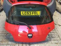 Ford KA tailgate in red boot rust free & in good condition & complete