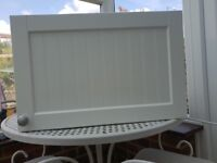 Howdens White Kitchen wall cupboards x 2