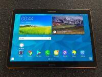 Samsung Galaxy Tab S SM-T805 16GB, Wi-Fi + 4G (Unlocked), 10.5in Tablet