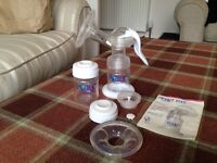 Avent hand breast pump