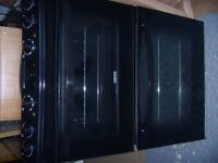 Zanussi free standing cooker/gas hob & electric double oven