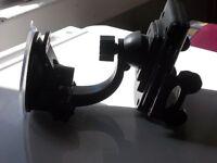 mobile phone in car holder