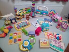 Baby toy selection