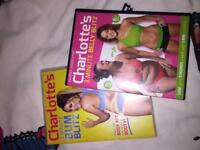 Charlotte exercise DVD package