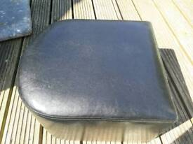New faux leather footstools/seats