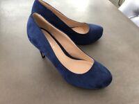 Carvela Kurt Geiger Blue High Heels - NEW Size 39/ UK 6