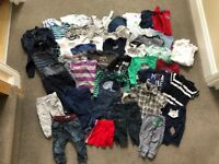 Baby boy bundle clothes age 6-12 months